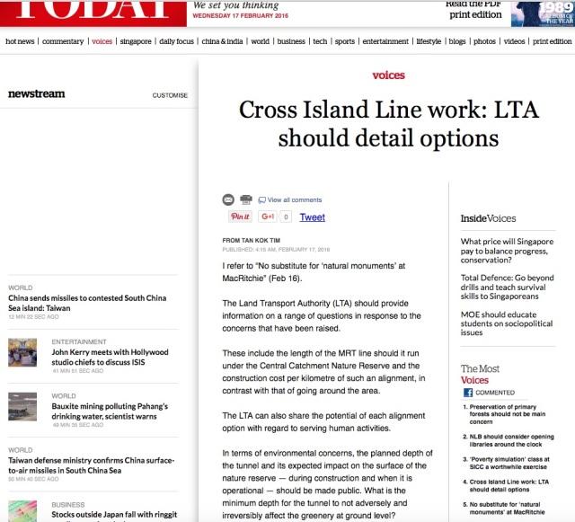 cross island line
